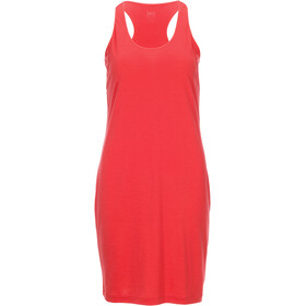 super.natural Essential Racer Dress Women Clove Red